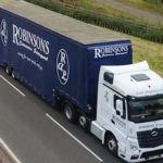 a robinsons lorry
