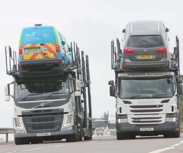 robinsons auto logistics vehicles transporting cars
