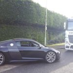 Audi car to be transported by RAL Prestige Transport