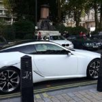 White Ferrari to be transported by RAL Prestige Transport