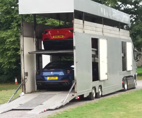 Robinson Autologistic specialise in Covered Vehicle Transportation